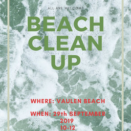 Beach Clean Up 29th Sept 2019